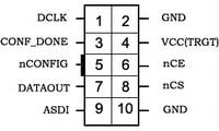 5 шт./лот USB Blaster V2 кабель для загрузки ALTERA FPGA CPLD USB Blaster программатор отладчик для Altera Cyclone& MAX от Waveshare