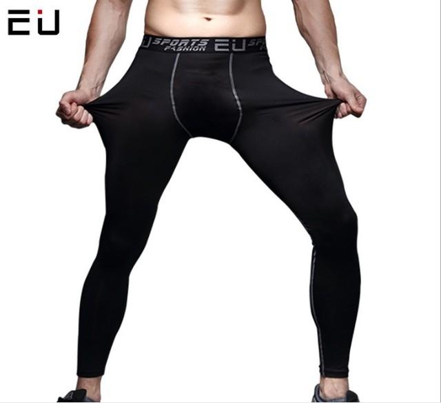 Homens's tênis de basquete dos homens PRO esportes calças justas Leggings calças de fitness masculino velocidade formação calças de compressão de funcionamento a seco