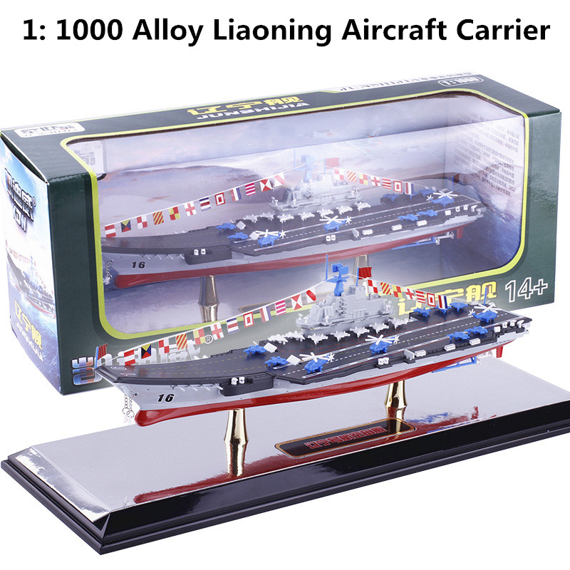 High simulation 1:1000 scale alloy Liaoning aircraft carrier,Military toy model, fighter, warships,free shipping 1 400 jinair 777 200er hogan korea kim aircraft model