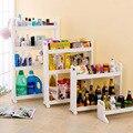 Multi-layer Home Storage Rack Refrigerator Shelf Storage Holder Wheel Shoe Food Wine Racks Kitchen Cart Bathroom Garage Shelves