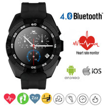 Новый NB-1 Smartwatch Bluetooth Смарт Часы № 1 G5 LED Light Display with Heart Rate Monitor для Android и IOS Watchphone