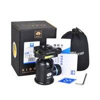 K30X Sirui Mini 360 Angle Panoramic Rotation Pro Ball Head Tripod PTZ For SLR Camera Unipod Monopod Tripod Panning Rotating