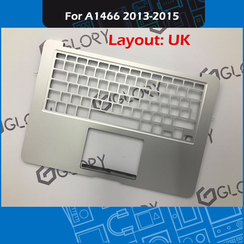 Brand New A1466 Top case Topcase UK Layout for Macbook Air 13 A1466 Palmrest Replacement EMC 2632/2925 2013 2014 2015 Year image