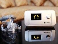 MOYEAH Авто CPAP Машина медицинского оборудования с носовой Маска анфас вставить SD карты для апноэ сна носовые анти храп