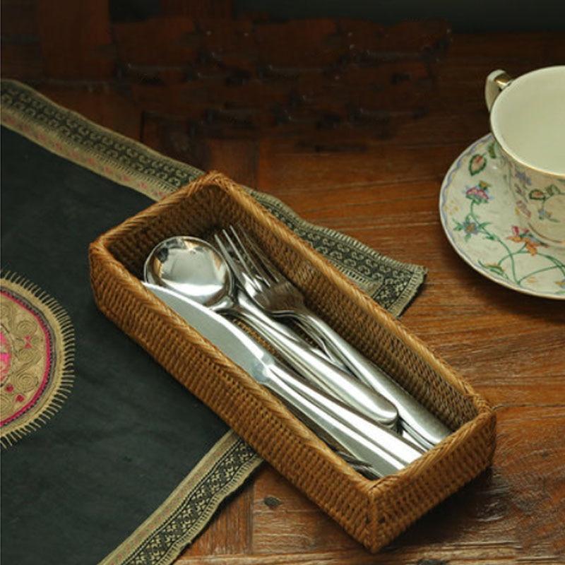 ... Preguntas sobre Organizador de cocina cubiertos bandeja vajilla cajón  natural cestas cesta de almacenamiento de cucharas cuchillos tenedores  palillos ... 907cf50b20b7