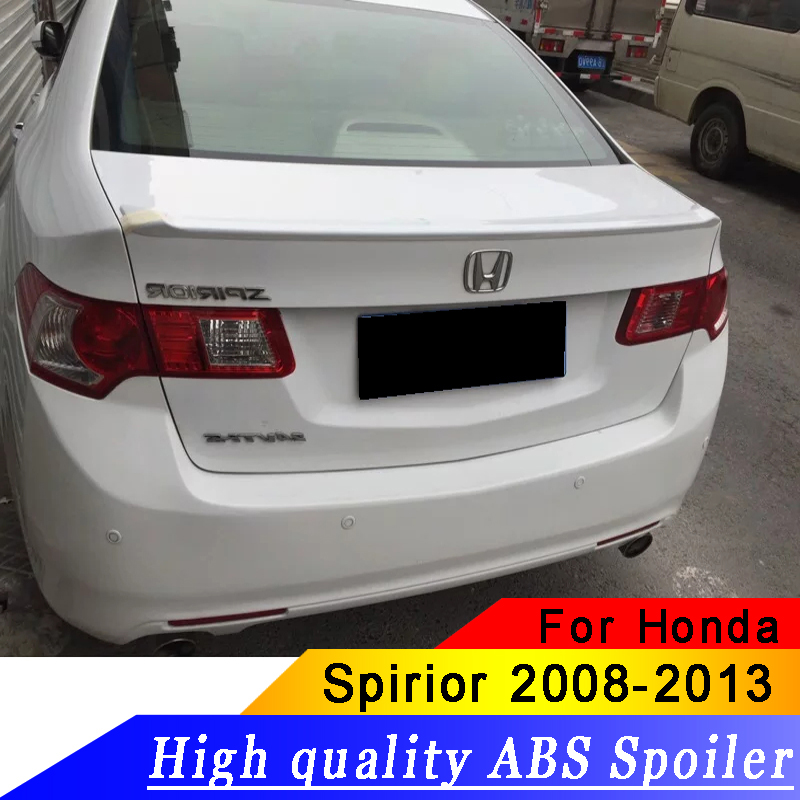 ABS Material Car Rear Wing For Honda Spirior Acura TSX