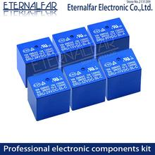 Time Relays  5V 6V 9V 12V 24V 48V DC 10A 125V 250V AC SRD-48VDC-SL-A SPDT NO Typc A 4PIN B-M C 5PIN PCB T73