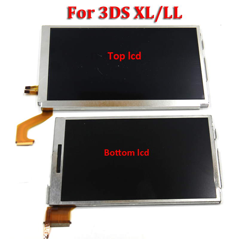 Replacemeny Parts Top Bottom & Upper Lower LCD Screen Display For Nintend DS Lite/NDS/NDSL/NDSi New 3DS LL XL For Nintend Switch