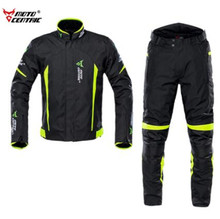 MOTOCENTRIC Motorcycle Jacket +Pants Moto Body Armor Waterproof Riding Racing Jaqueta Chaqueta Protection