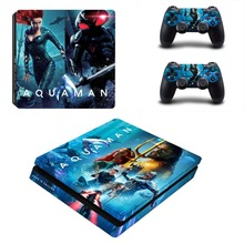Film Aquaman PS4 Slim Skin Sticker