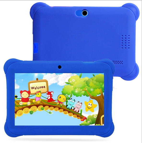 7 INCH children Tablet PC Carton design with Dual Camera Supports 55 countries Language For Kids Gift