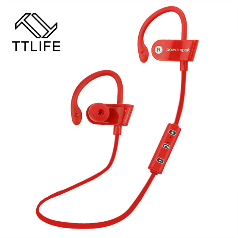 sale original ttlife wireless earphones bluetooth 4 1 sports headphone stereo earphones noise. Black Bedroom Furniture Sets. Home Design Ideas