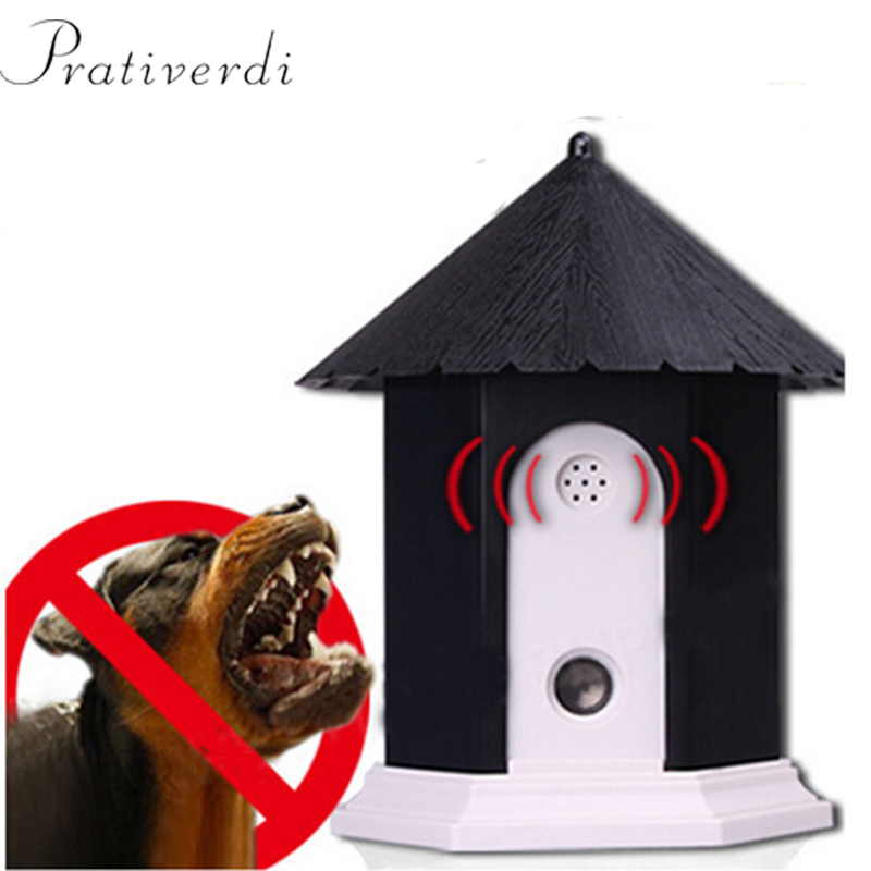 Outdoor Ultrasonic Stop Barking Dog Device Dog Training Cabin Bark 50 Feet Control Repeller Dog Waterproof Electronic Repellents-in Repellents from Home & Garden    1