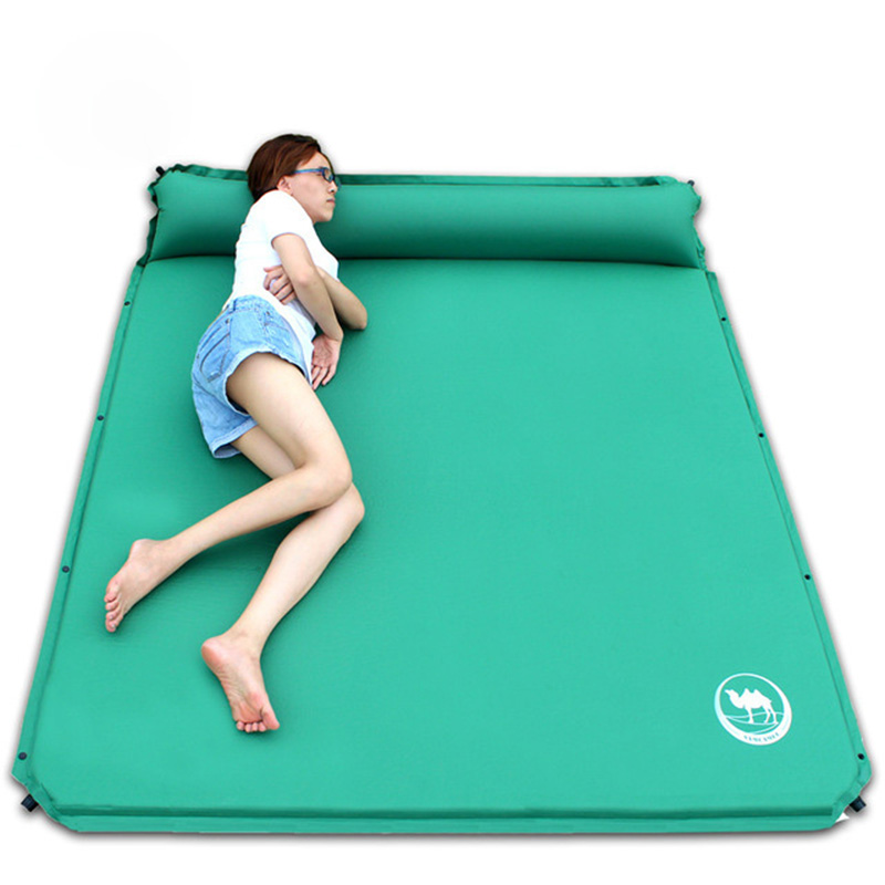 2-3 Person 190*160*3.5cm Automatic Inflatable Mattress Moisture-Proof Pad Outdoor Camping Tent BBQ Cushion Fishing Beach Mat 6 5ft diameter inflatable beach ball helium balloon for advertisement