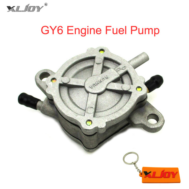 xljoy outlet vacuum gy6 engine fuel pump for 50cc 125cc 150cc jonway tank  znel lance atv quad scooter moped 4 wheeler
