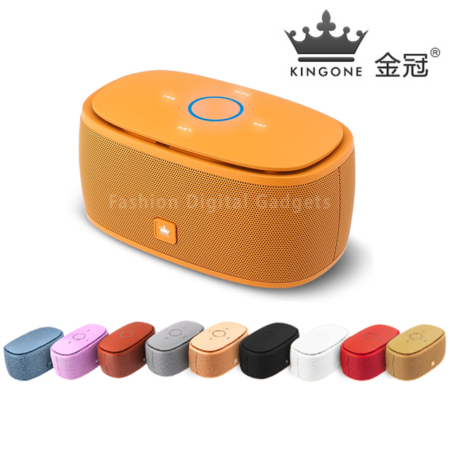 Original kingone k5 touchtone bluetooth speaker, k5 sem fio super bass speaker boombox tf cartão microfone hands-free do carro falante