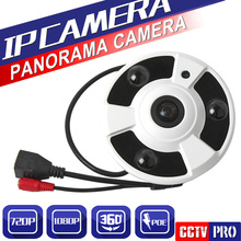 HD 2MP 1MP 720 P 1080 P Cubierta de Seguridad CCTV Fisheye Vista Completa gran Angular de 360 Grados Cámara IP P2P Nube Onvif POE Teléfono vista