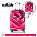 Dispalang hot sale flower prints waterproof luggage protective cover for 18-30 inch suitcase travel trolley luggage dust cover