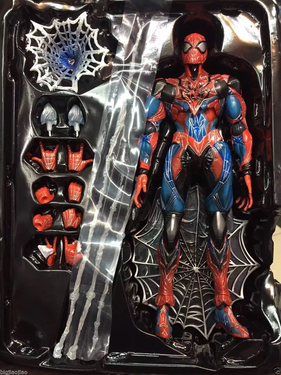 NEW Square Enix VARIANT Play Arts Kai Spider-Man PVC Action Figure With Retail Box personal computer graphics cards fan cooler replacements fit for pc graphics cards cooling fan 12v 0 1a graphic fan