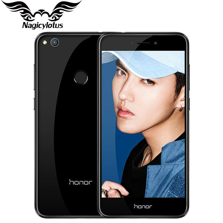 2017 New Original Huawei Honor 8 Lite 4G LTE Mobile Phone 3GB 32GB Kirin 655 Dual SIM 5.2 inch 12MP Camera 3000mAh Fingerprint