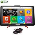 "Original iaotuGo 7"" Capacitive GPS Navigator Car Truck Navigation Rearview Camera Bluetooth AVIN 256M 8G FM Free Maps Updated"