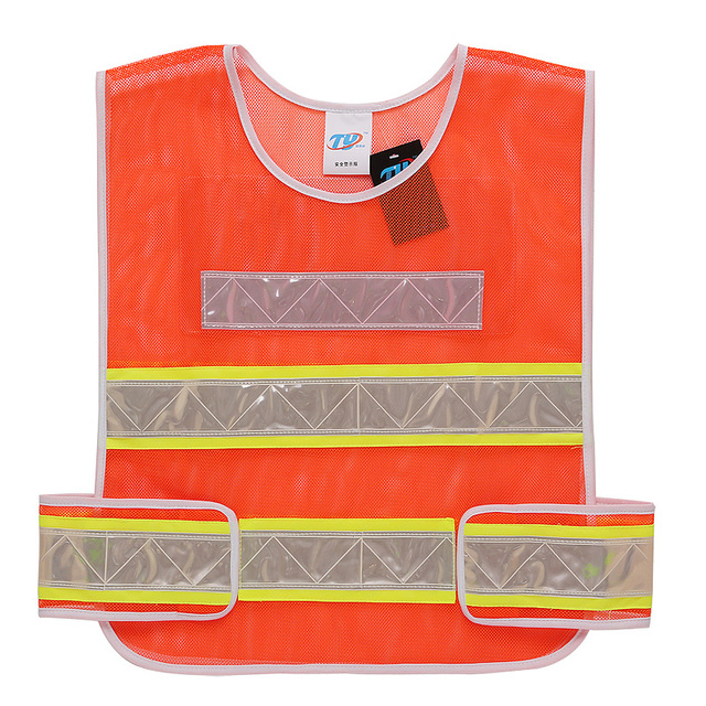 Reflective vest fluorescent safety warning vest Construction insurance clothes Marau reflective clothing Jackets