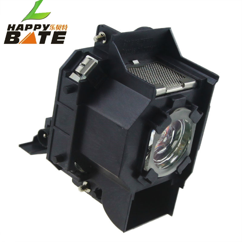 цены  wholesale ELPLP34 V13H010L34 projector lamp for EMP-82 EMP-62 EMP63 EMP-X3 EMP-76C with housing 180 days warranty happybate