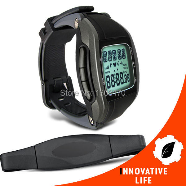 Multi-Function Wireless Heart Rate Monitor 30 ~ 240 bpm Range Chest Strap Watch Fitness Belt Sport Calorie Fat Calculation buy multi monitor