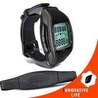 Multi-función Wireless Monitores 30 ~ 240 LPM gama pecho Correa reloj de la aptitud del deporte de calorías de grasa cálculo