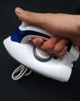 2015 Fashion Foldable 3 Gears Variable Temperature Control Portable Manual Travel Mini Iron Steam Handle Rotary