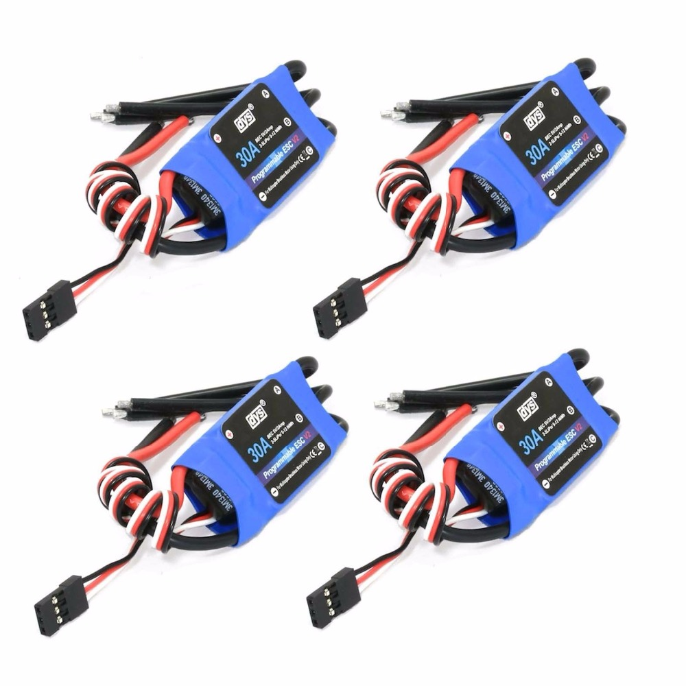 4pcs High Quality Simonk 30A Brushless Speed Controller
