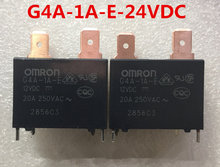 Fast Free Ship 10pcs/lot For Omron Automotive Relay G4A-1A-E-24VDC 20A/4 Pin 24VDC Power Relay(China)