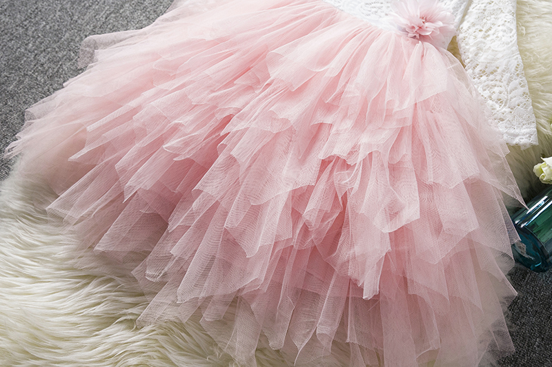 HTB1DvIsajzuK1RjSspeq6ziHVXaQ Children Formal Clothes Kids Fluffy Cake Smash Dress Girls Clothes For Christmas Halloween Birthday Costume Tutu Lace Outfits 8T