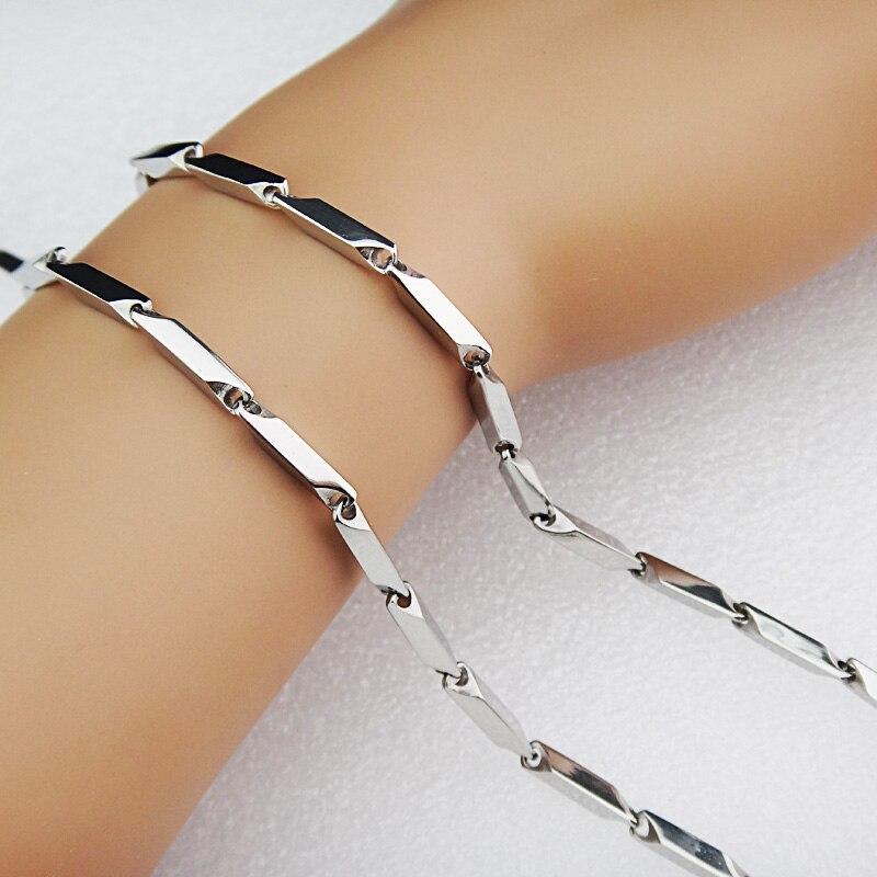 Горячая Распродажа шармы 316L нержавеющая сталь женское мужское ожерелье для костюма модные золотые серебряные ювелирные изделия A-816
