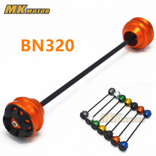 Motorcycle For BENELLI BN320 2015-2017 CNC Modified Motorcycle Accessoris Front wheel drop ball / shock absorber motorcycle front shock absorber construction js125 6b