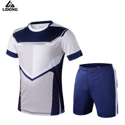 Men Soccer Jerseys Set survetement Football Sports Kits Futbol Shirts Shorts Tights Maillot De Foot Jersey Uniforms $1.8 Custom
