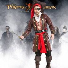 цена Halloween Costumes for Pirates of  The Caribbean онлайн в 2017 году