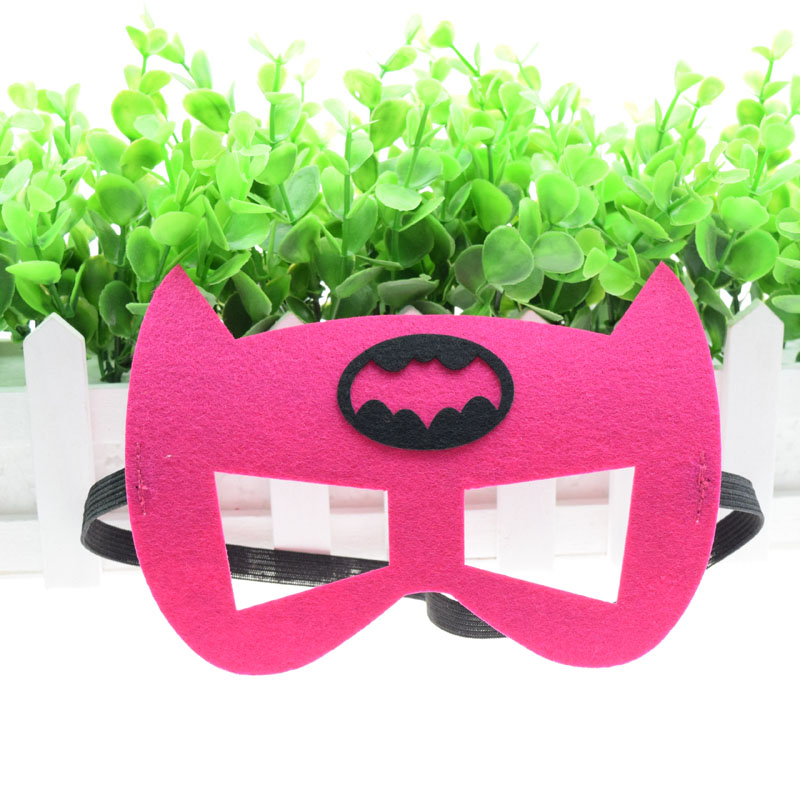 Batgirl masque Batwoman Flash super-héros Cosplay Batman Thor IronMan princesse Halloween noël enfants adulte fête Costumes masques