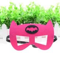 Batgirl maschera Batwoman Flash Superhero Cosplay Batman Thor IronMan Principessa di Halloween Di Natale per bambini di età Costumi Del Partito Maschere