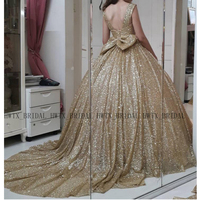 Gold Glitter Sequined Quinceanera Dresses 2019 Plus Size Sweet 16 Ball Gown Prom Dress Sweetheart Corset Puffy Vestidos de 15