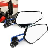 7/8 Motorcycle Rear View Mirrors Motorbike Handle Bar End Rear View Mirrors FOR SUZUKI TL1000S GSX600 GSX750 DR 650 S GSX1300