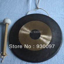 "high quality brass gong ! 100% hand made chinese traditional 8""chao GONG"