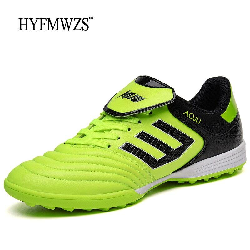 Hyfmwzs Big Size 3.5 9.5 Men Soccer Shoes Superfly