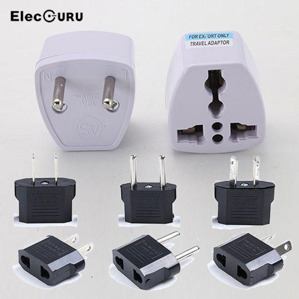 Universal EU GER AU UK US Plug Travel Adapter European Germany Australia England USA Power Socket Plug Adaptor Converter Plugs