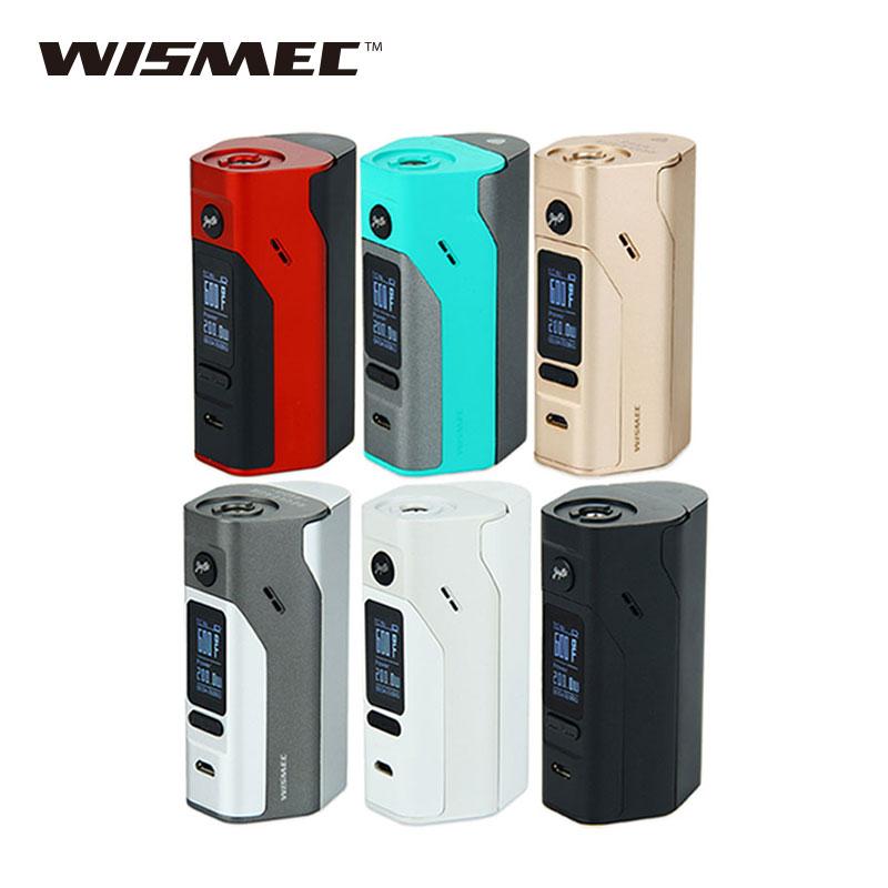 Originale Wismec Reuleaux RX2/3 TC 150 W/200 W Box Mod Firmware Aggiornabile Reuleaux RX2 3 TC RX23 Temp Controllo Mod VS RX200S