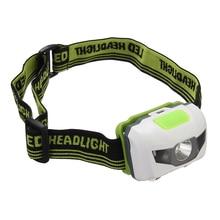 Jiguoor Portable Mini Headlamp Headlight  Flashlight Torch Lamp 1200 Lumen R3+2LED 4 Models For Hiking Camping Light For Cycling