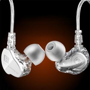 Image 3 - Fonge F4 filaire écouteur basse lourd double pilote stéréo HIFI écouteurs Sport musique écouteurs avec micro pour Smartphone Accessoris