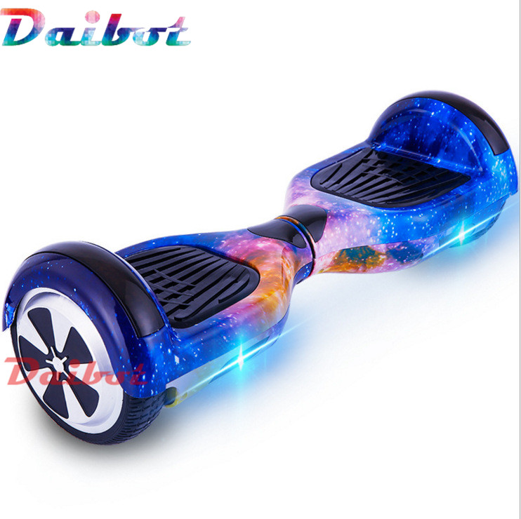 6.5 inch Two Wheel Scooter Chrome Hoverboard electric self balancing scooter hover Board