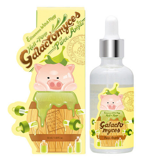 Elizavecca Galactomyces Pure Ample 50ml Face Serum Essence Skin Care Moisturizing Anti Wrinkle Lifting Firming Korea Cosmetic ample pink