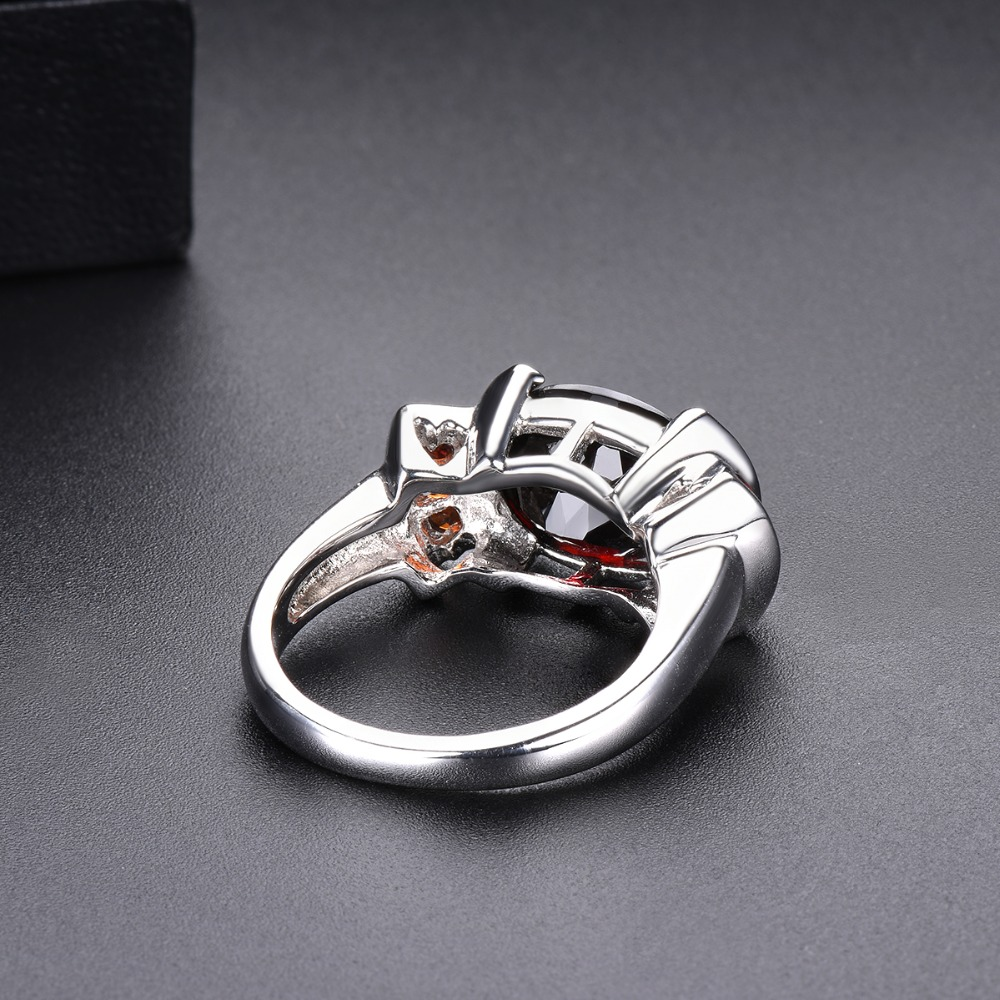 Hutang Garnet Wedding Ring 5.34ct Natural Gemstone Solid 925 Sterling Silver Fine Fashion Stone Jewelry Women Man Best Gift New-in Rings from Jewelry & Accessories    3
